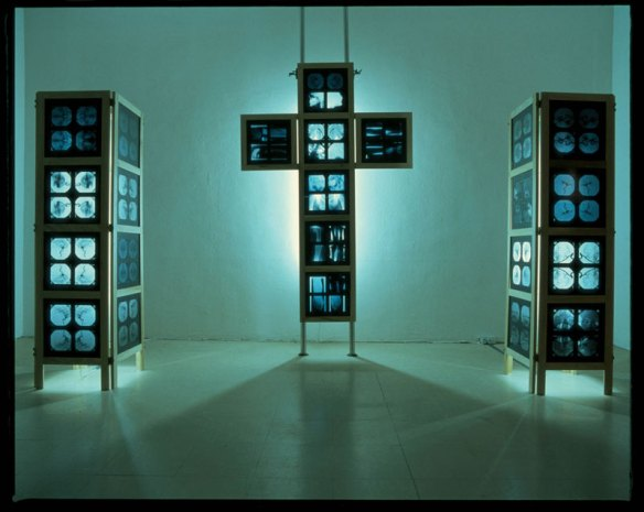 Hinged Crucifix and Plinths - 2002