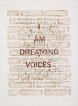 Dreaming Voices 1, 2012 lithograph made at the Curwen Studio 81 x 60 cms