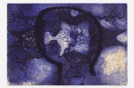Matter into imagination 4 2006 perspex plate on collagraph plate